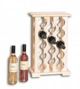 dřevěný stojan na víno pro 14 láhví - SV14