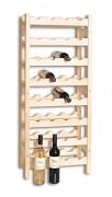 dřevěný stojan na víno pro 32 láhví - SV32
