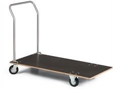 Plošinový vozík s dřevěnou deskou - Biedrax VP2025