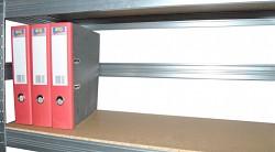 zadní zábrana 100 cm zinek, pro kovový regál proti vypadnutí