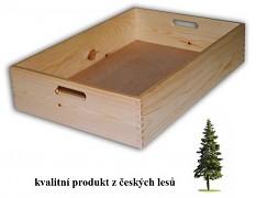 dřevěná bedna velká 60 x 40 x 13 cm - Biedrax