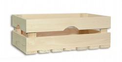 dřevěná bedna 34 x 20 x 13 cm - Biedrax