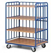 policový vozík Biedrax PV4128 - 100x70cm
