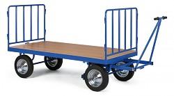 velký plošinový vozík Biedrax PV1579 - kovové čelo