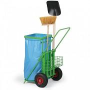 Venkovní úklidový vozík Biedrax VU3300