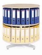 regál otočný archivační - přídavné patro Biedrax AS3947