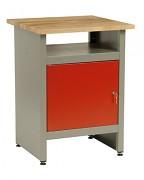pracovní stůl do dílny, se zásuvkami - Biedrax PS5806CV - červený