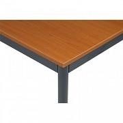 stoly do kanceláře 80 x 80 cm Biedrax JS4639TST - tm.šedá, třešeň