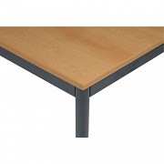 stoly do kanceláře 80 x 120 cm Biedrax JS4645TSB - tm.šedá, buk