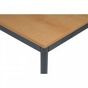 stoly do kanceláře 80 x 160 cm Biedrax JS4651TSB - tm.šedá, buk
