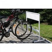 Stojan na jízdní kola s reklamou Biedrax SK1602 - 3 stání