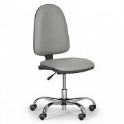 Dílenská židle Torino Biedrax Z9812S - chromovaný kříž