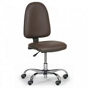 Dílenská židle Torino Biedrax Z9812H - chromovaný kříž