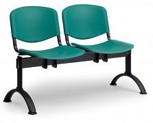 Plastová lavice do čekáren ISO Biedrax LC9680Z - podnož černá