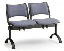 Čalouněná lavice do čekáren Smart Biedrax LC9212S - podnož černá