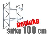 PALETOVÉ REGÁLY ZÁKLADNÍ ŠÍŘKA 100 CM