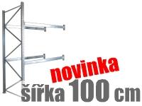 PALETOVÉ REGÁLY PŘÍDAVNÉ ŠÍŘKA 100 CM